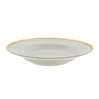Athens Gold Rim Soup (Set of 6)