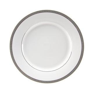 10 Strawberry Street Luxor Platinum Dinner Plate (Set of 6)