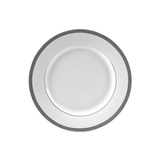10 Strawberry Street Luxor Platinum Salad/ Dessert Plate (Set of 6)