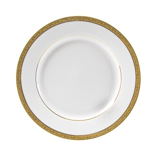 10 Strawberry Street Paradise Gold Dinner Plate (Set of 6)