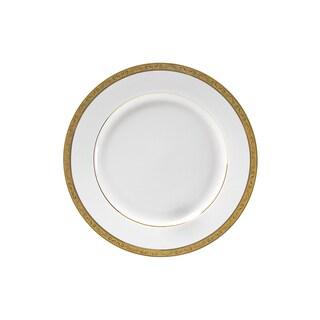 10 Strawberry Street Paradise Gold Salad/ Dessert Plate (Set of 6)