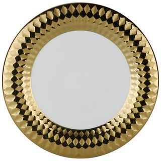10 Strawberry Street Cairo 10.5-inch Dinner Plate Gold (Set of 6)
