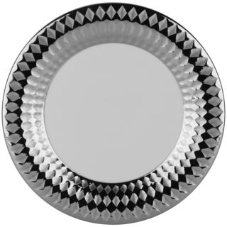 Cairo 10.5-inch Dinner Plate Silver (Set of 6)