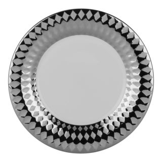Cairo 8-inch Salad Plate Silver (Set of 6)