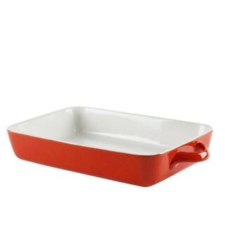 10 Strawberry Street Sienna Red Rectangular Bakeware 12-inch
