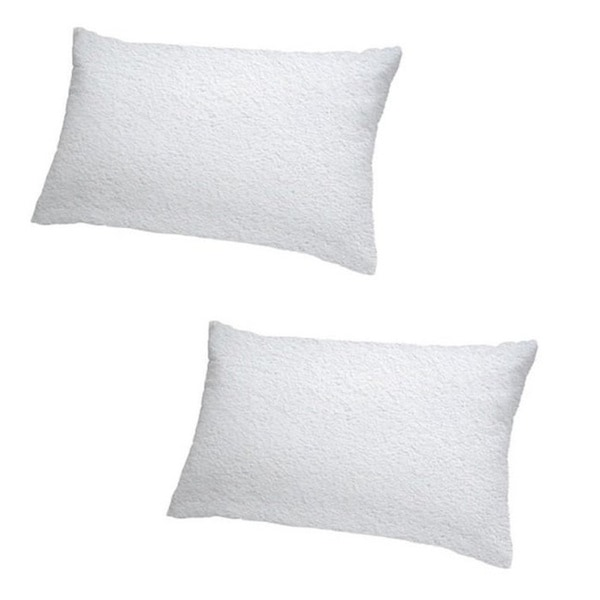 Cheer Collection Terry Cotton Waterproof Pillow