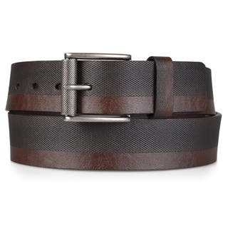 Vance Co. Men's Genuine Leather Textured Belt|https://ak1.ostkcdn.com/images/products/10680142/P17743566.jpg?impolicy=medium