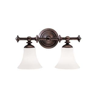 Transitional 3-light Olde Auburn Bath/Vanity Light