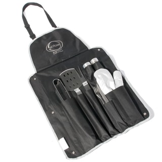 Eclipse 9-piece Bbq Set with Ergonomic Handles