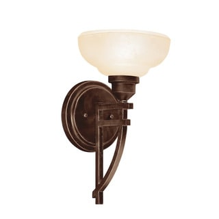 Transitional 1-light Olde Auburn Wall Sconce