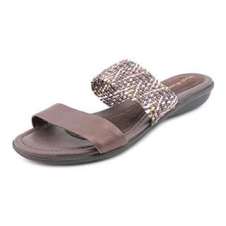 Hush Puppies Women's 'Nishi Slide' Leather Sandals