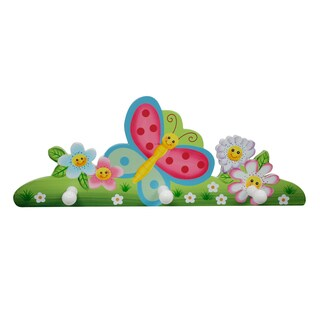 Magic Garden Peg Hooks - Pink