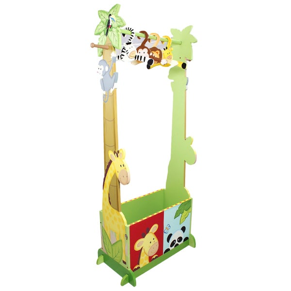 Teamson Sunny Safari Dress Up Valet Rack