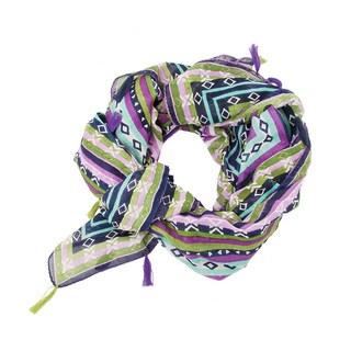 Handmade Purple Sedona Scarf (India)