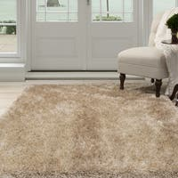 Windsor Home Shag Area Rug - Natural - 3'3 x 5'