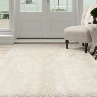 "Windsor Home Shag Area Rug - Beige - 3'3""X5'"