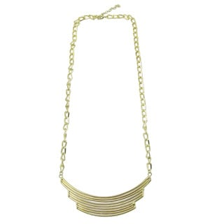 Deco Arc Goldtone Necklace (India)