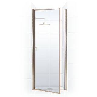 Legend Series 34.25-inch to 35.75-inch x 68-inch Framed Hinge Shower Door