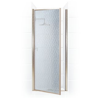Legend Series 32.25-inch to 33.75-inch x 68-inch Framed Hinge Shower Door