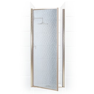 Legend Series 35.25-inch to 36.75-inch x 64-inch Framed Hinge Shower Door