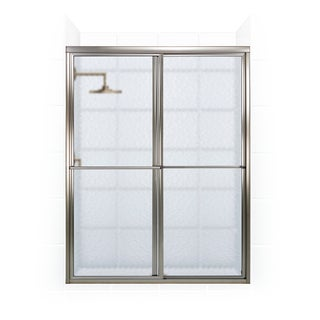 Newport Series 48-inch x 70-inch Framed Sliding Shower Door with Towel Bar
