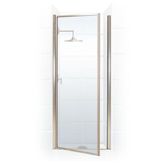 Legend Series 35.25-inch to 36.75-inch x 68-inch Framed Hinge Shower Door