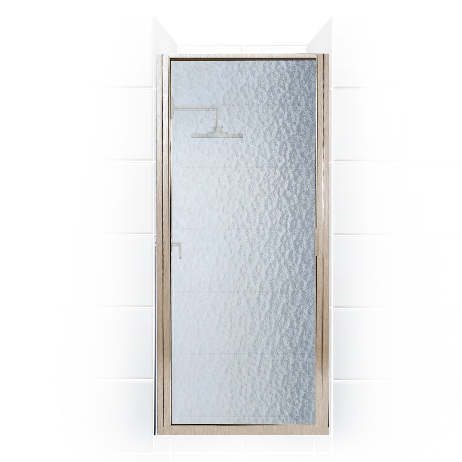 Paragon Series 30 Inch X 82 Inch Framed Continuous Hinge Shower Door Overstock 10680576