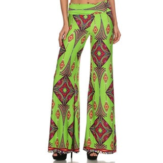 MOA Collection Women's Palazzo Pants