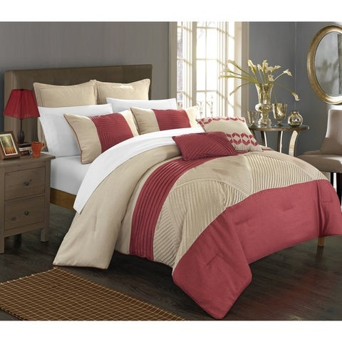 Chic Home 7-piece Greta Bed-in-a-Bag Comforter Set
