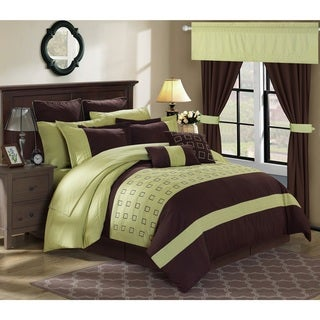 Chic Home Hubert Green 25-piece Bed in a Bag with Sheet Set