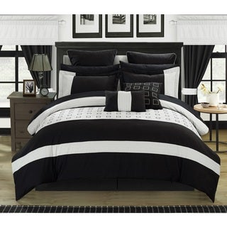 Chic Home Hubert Black 25-piece Bed-in-a-Bag