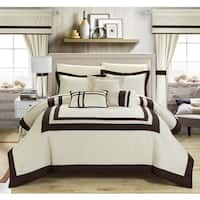 Clay Alder Home Fruita 20-piece Color Blocked Comforter Set