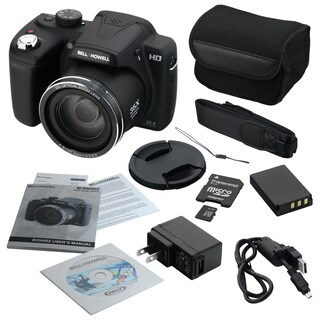 Bell+Howell B35HDZ 20MP Superzoom Digital Camera with 35X Wide-angle Optical Zoom|https://ak1.ostkcdn.com/images/products/10680787/P17744108.jpg?_ostk_perf_=percv&impolicy=medium