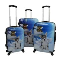 Chariot Dream 3-piece Hardside Lightweight Upright Spinner Luggage Set