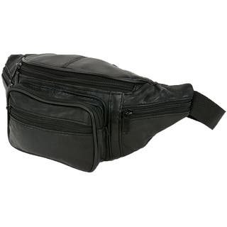 acfb6fc3d46f Travelon Leather Waist-Pack. Quick View