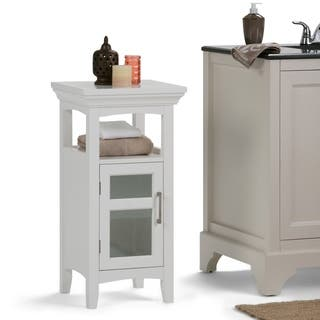 WYNDENHALL Hayes Floor Storage Cabinet in White|https://ak1.ostkcdn.com/images/products/10680836/P17744152.jpg?impolicy=medium