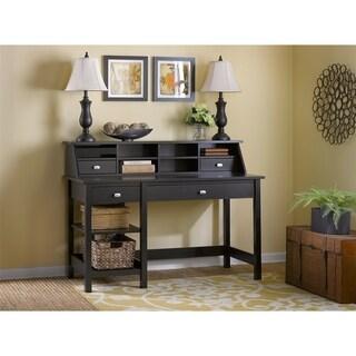 Bush Furniture Broadview Computer Desk Office Suite in Espresso Oak