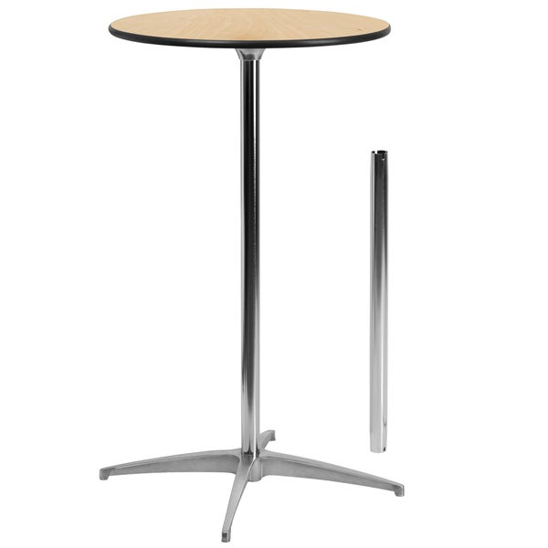 Shop Inch Round Cocktail Table Free Shipping Today Overstock - 24 inch round cocktail table