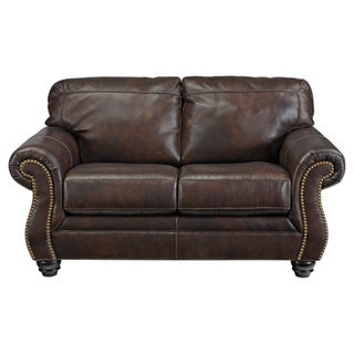 Signature Design by Ashley Bristan Walnut Loveseat