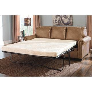 queen sofa bed. signature design by ashley lottie durablend almond queen sofa sleeper bed