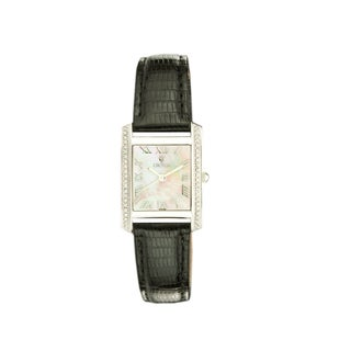 Croton Women's CN207057BSMP Stainless Steel Silvertone Mother of Pearl Watch