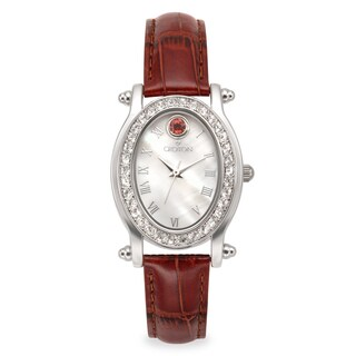 Croton Women's CN207537PKMP Stainless Steel October Birthstone Watch