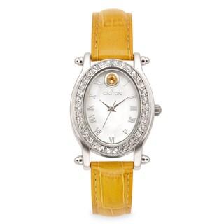 Croton Women's CN207537YLMP Stainless Steel November Birthstone Watch