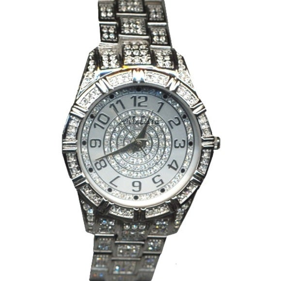 b888de195ccb1 Croton Women's Stainless Steel Silvertone Crystal Watch - Silver
