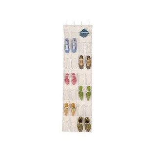 Over-the-Door Clear Shoe Organizer