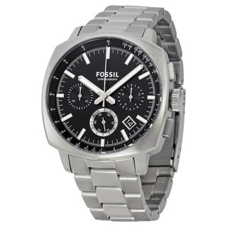 Fossil Men's CH2982 Haywook Chronograph Black Dial Stianless Steel Bracelet Watch