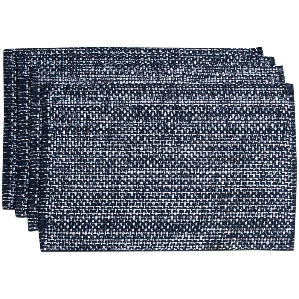 Shop 100-percent Cotton Two-tone Placemats (Set of 2, 4 or 6) - 10686762