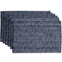100-percent Cotton Two-tone Placemats (Set of 2, 4 or 6)