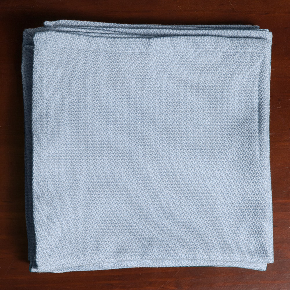 Shop Classic Chambray Table Cloth with 4 Piece Napkins Options - Overstock - 10686764