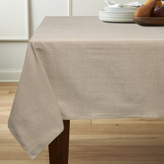 Classic Chambray Table Cloth with 4 Piece Napkins Options (4 options available)